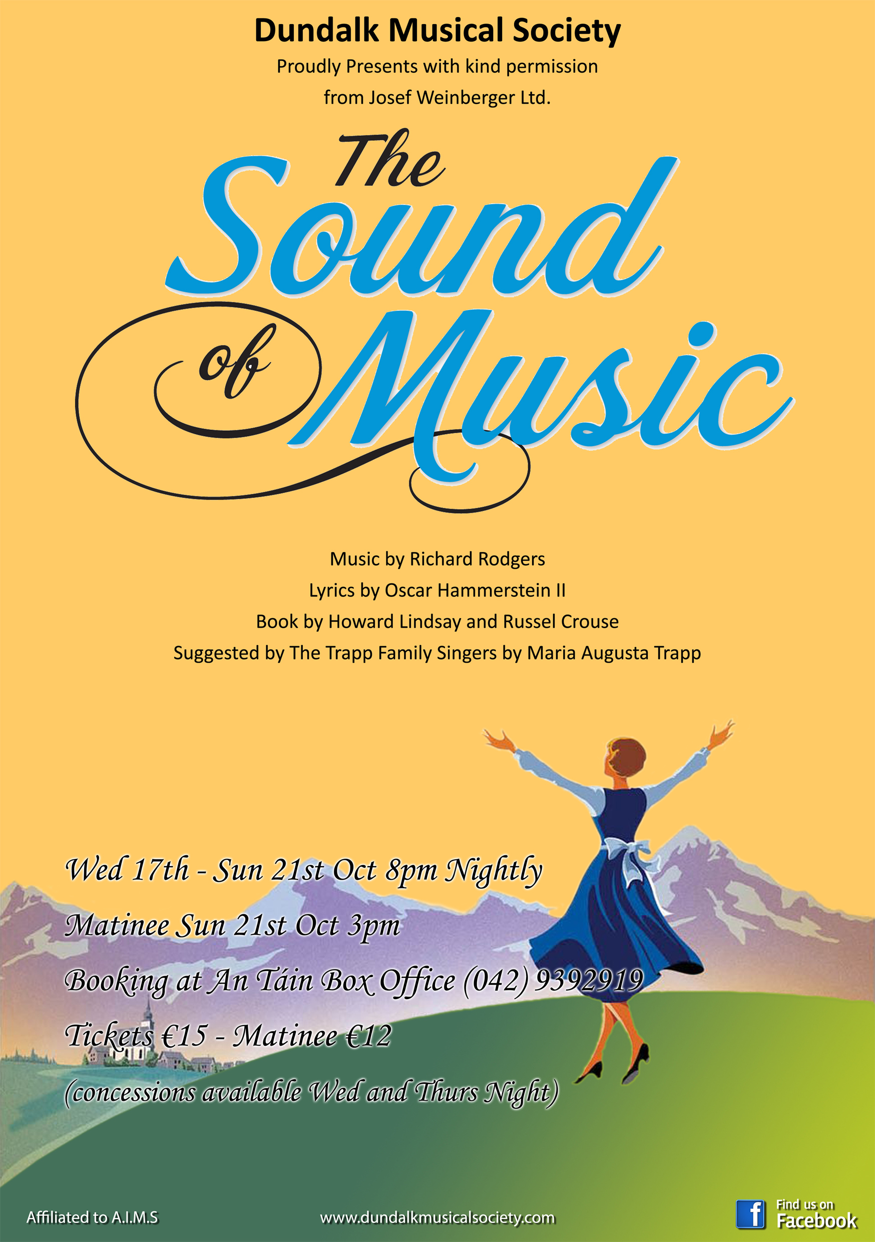Dundalk Musical Society present The Sound of Music Create Louth